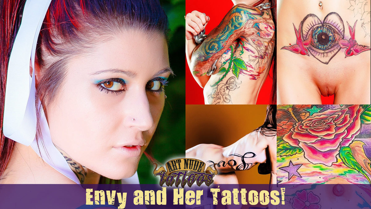 Meet Envy! Welcome to ArtNudeTattoos!
