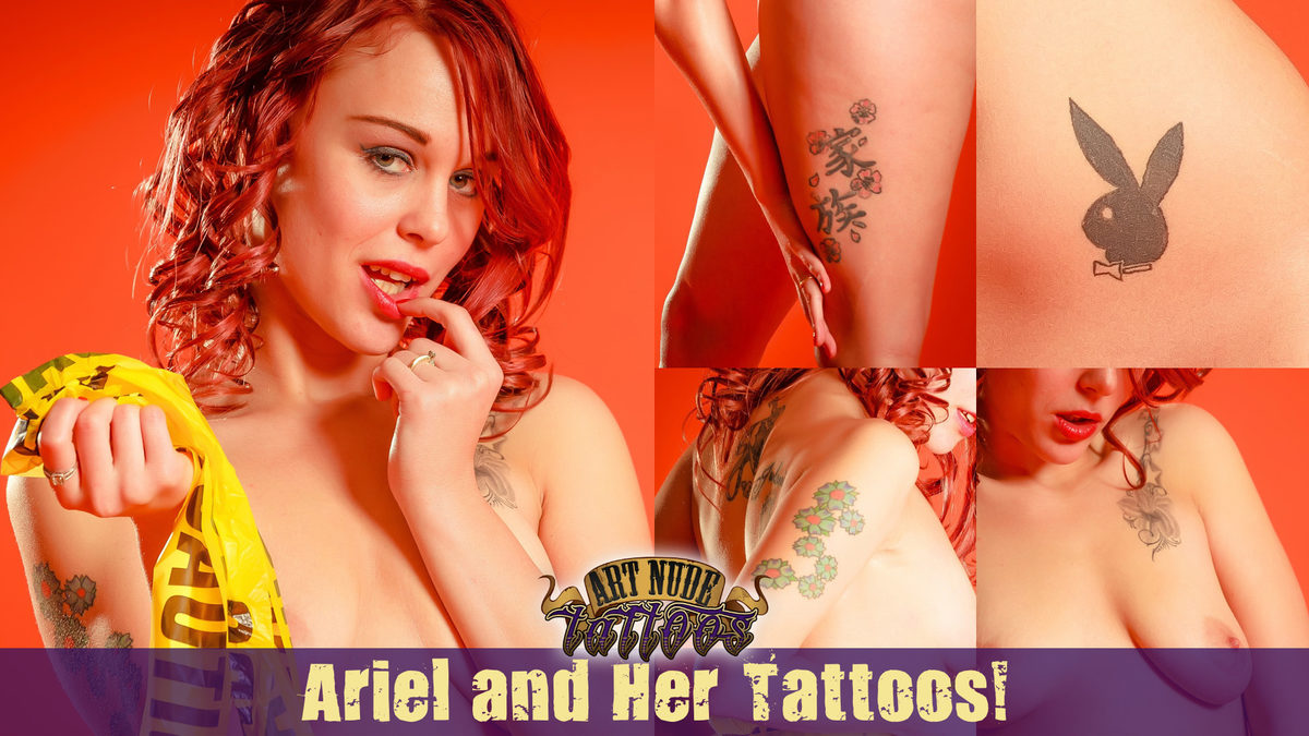 Meet Ariel! Welcome to ArtNudeTattoos!