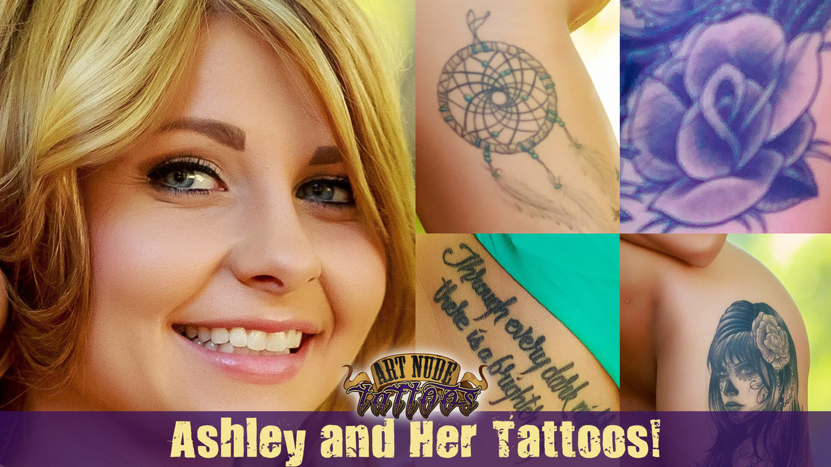 Meet Ashley! Welcome to ArtNudeTattoos!