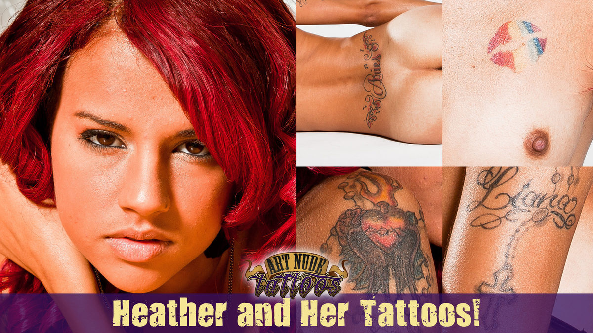 Meet Heather! Welcome to ArtNudeTattoos!