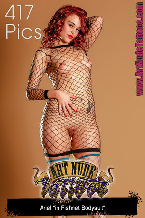 FREE PREVIEW Ariel in Fishnet Bodysuit